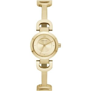 DKNY City Link Gold Plated Ladies Watch