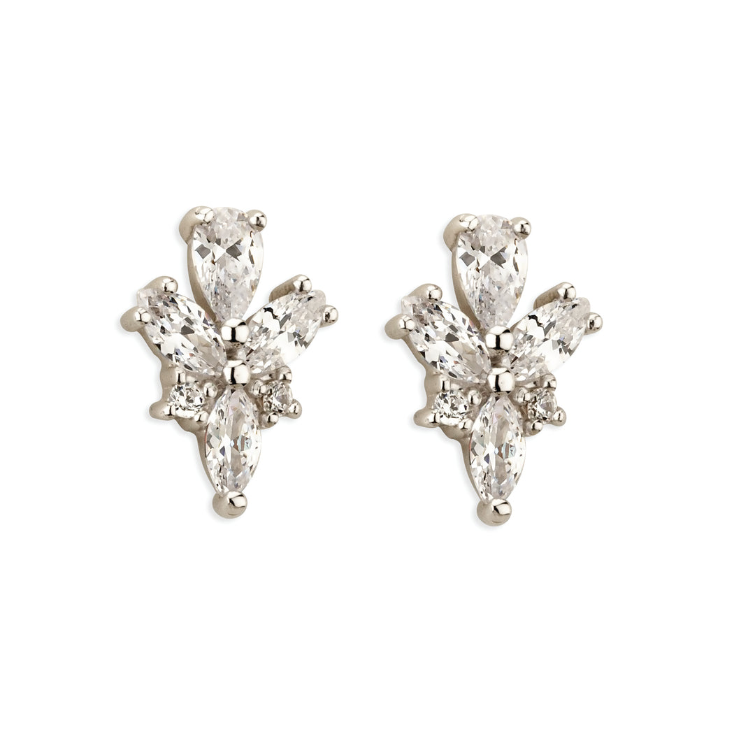 Paul Costelloe Fancy Crystal Stud Earrings PC3121
