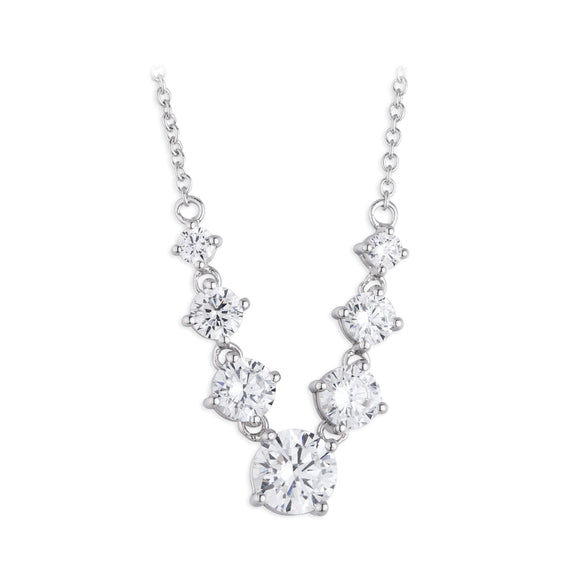 Paul Costelloe Graduated crystal necklet PC4075