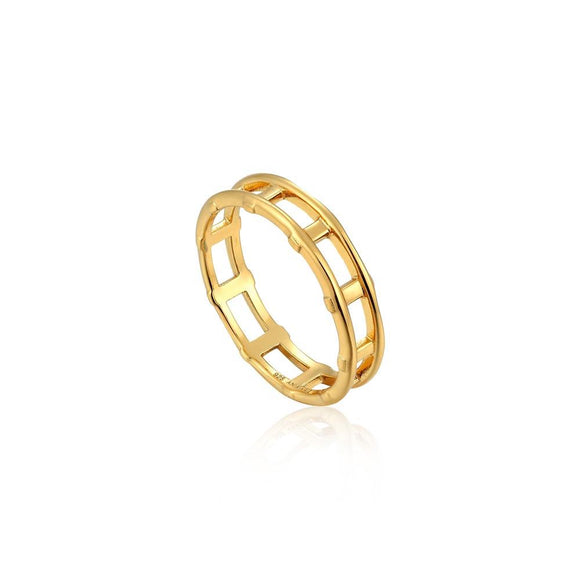 Ania Haie Modern Bar Ring R002-02G
