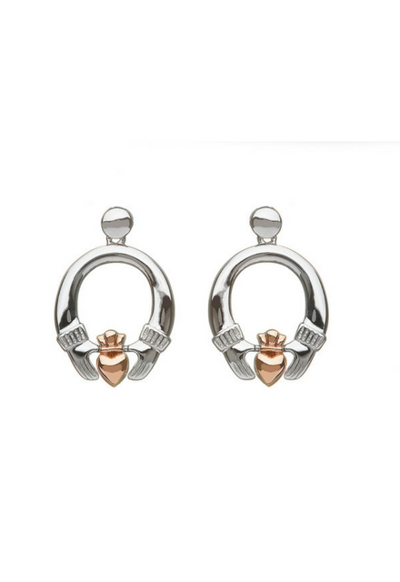 House of Lor Claddagh Drop Earrings H30036