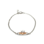 House of Lor Silver Claddagh Bracelet H80011