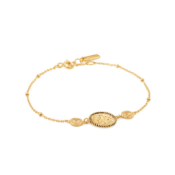 Ania Haie Gold Digger Winged Goddess Bracelet Gold