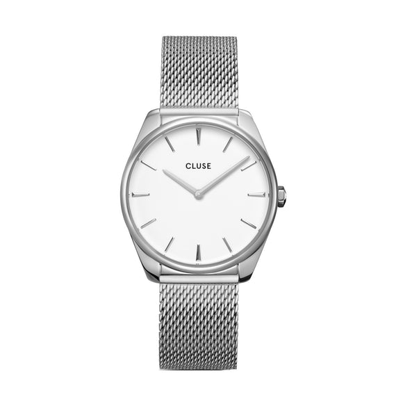 Cluse Féroce Silver Mesh CW0101212001