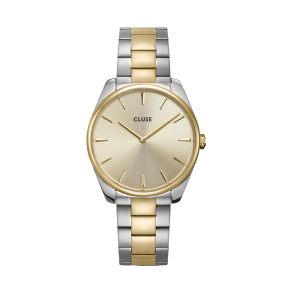 Cluse Féroce 3 Link Silver/Gold Steel CW0101212004