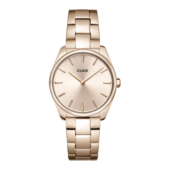 Cluse Féroce Petite Rose Gold Plated Ladies Watch