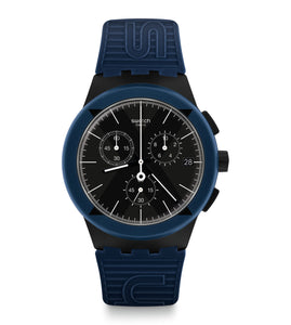 Swatch X-District Blue Watch SUSB418