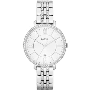 Fossil Jacquline Silver Watch ES3545