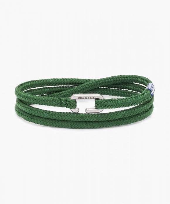 Pig & Hen Savage Sam Jungle Green|Silver