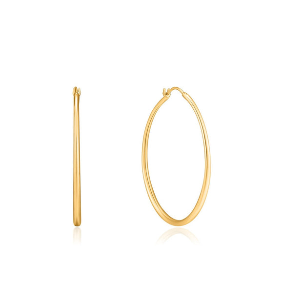 Ania Haie Gold Luxe Hoop Earrings