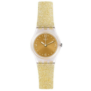Swatch Ladies Golden Glistar Too Watch LK382