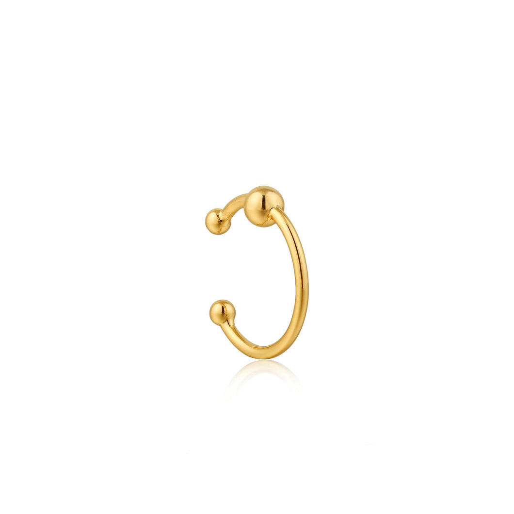 Ania Haie Out Of This World Ear Cuff Gold