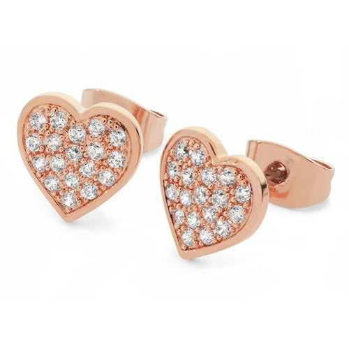 Tipperary Crystal Rose Pave Earrings 109759