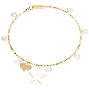 Rebecca Lucciole Collection Gold Bracelet SLCBOB06