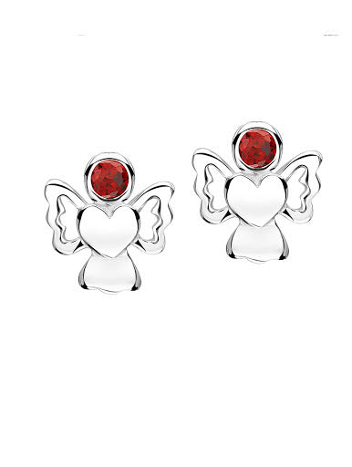 Jo For Girls Birthstone Angel Earrings