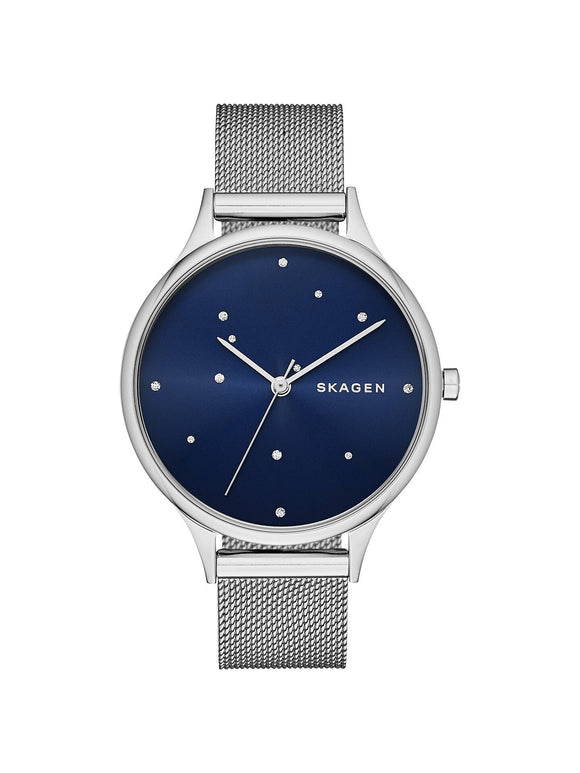 Skagen Anita Blue Crystal Constellation Dial Stainless Steel SKW2391