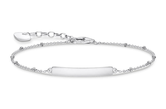 Thomas Sabo Sterling Silver Classic Bracelet With Dots