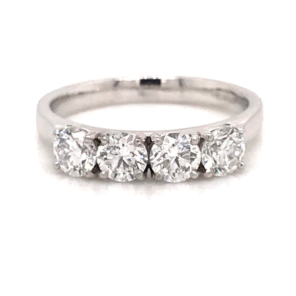 Four Stone Diamond Eternity