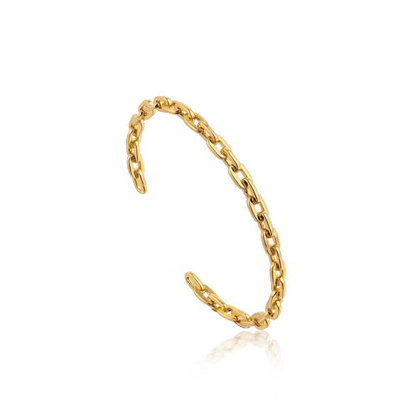 Ania Haie Links Open Bracelet Gold