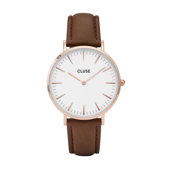 CLUSE LA BOHEME ROSE GOLD WHITE CL18010