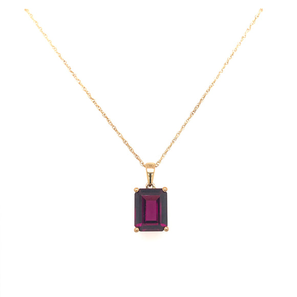 Brazilian Garnet Necklace