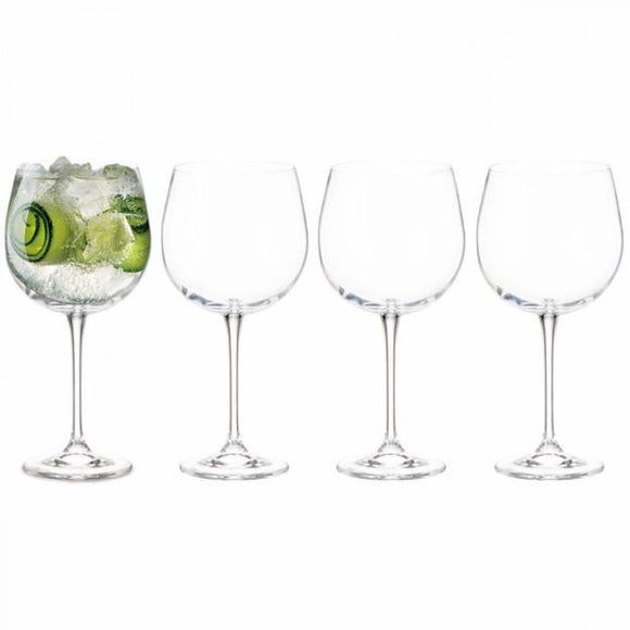 Tipperary Crystal Set of 4 Gin Glasses