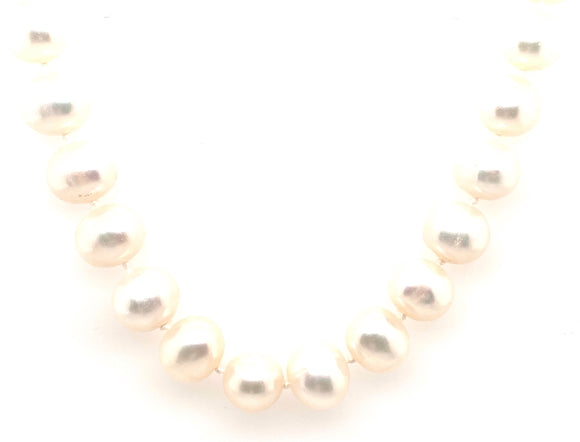 9ct Gold Cultured Pearl Necklace