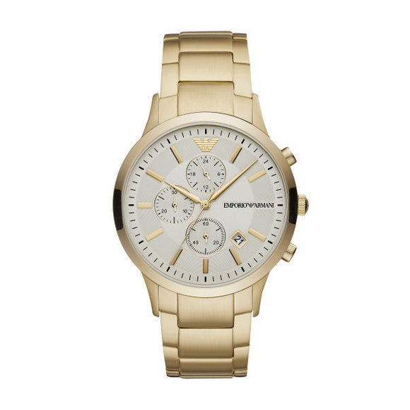 Armani Gents Renato Gold Bracelet Strap Watch AR11332
