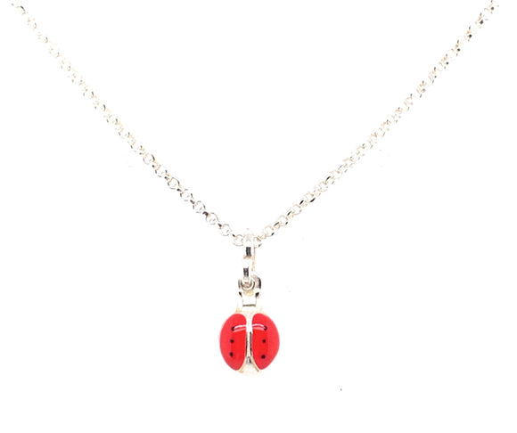 Sterling Silver Ladybird pendant