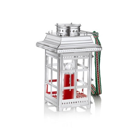 Newbridge Lantern With Red Candle Decoration