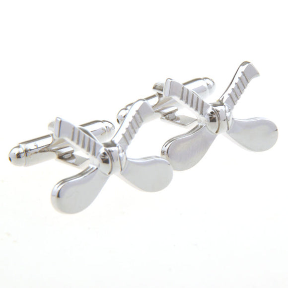 Silver Plated Hurley Cufflinks