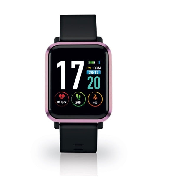 Techmade Extreme Smartwatch Black & Pink