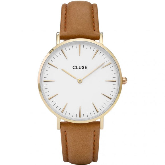 Cluse La Bohème Tan Leather CL18409
