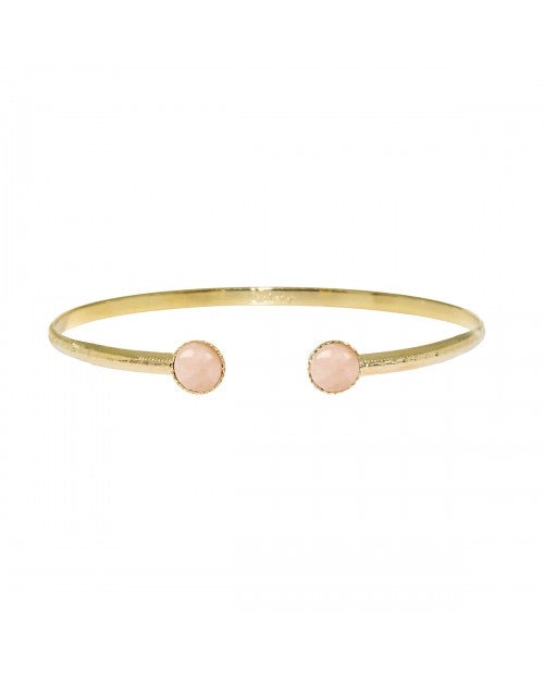 Nilai Jonc Athena Mother of Pearl Dotted Cuff