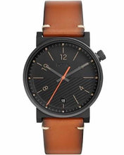 Load image into Gallery viewer, Fossil Barstow Three Hand Luggage Leather Strap Gents Watch FS5507