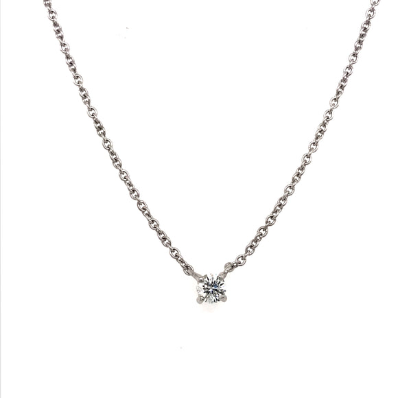 Floating Diamond Pendant 0.25ct