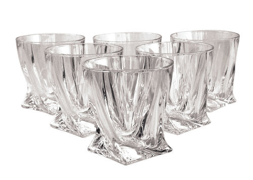 Tipperary Crystal Twist Tumbler Set 6
