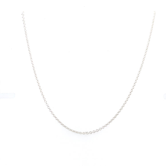 Sterling Silver Basic Chain by Tadgh O Flynn 03301.7.45