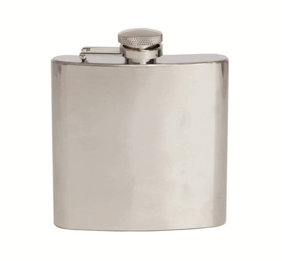 Stainless Steel 6oz Hip Flask HF-18