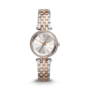 Michael Kors Darci Mini 2-Tone Stainless Steel Strap Ladies Watch MK3298