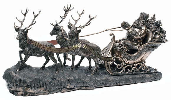 Genesis Santa On Sleigh HH014