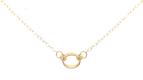 9ct Gold Round Necklace