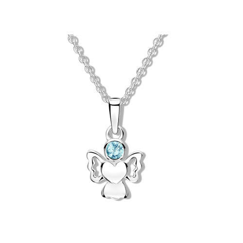 Jo For Girls Birthstone Angel Pendant