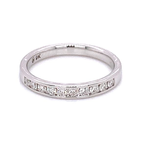 .25ct Chanel set Diamond Band