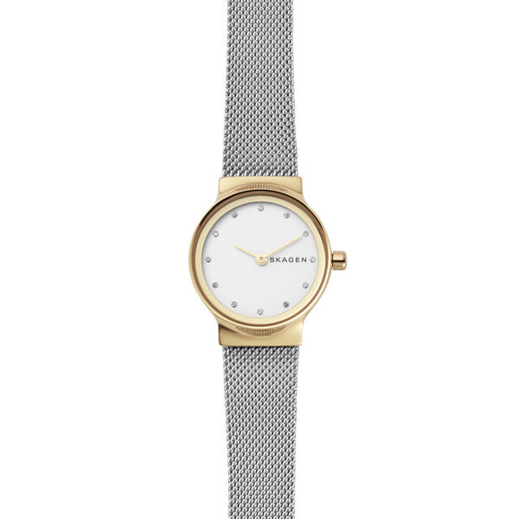 Skagen Freja Two-Tone Steel-Mesh Watch SKW2666