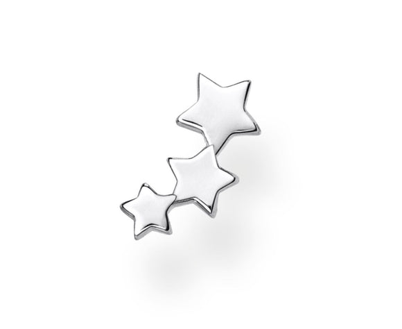 Thomas Sabo Sterling Silver Single Ear Star Stud