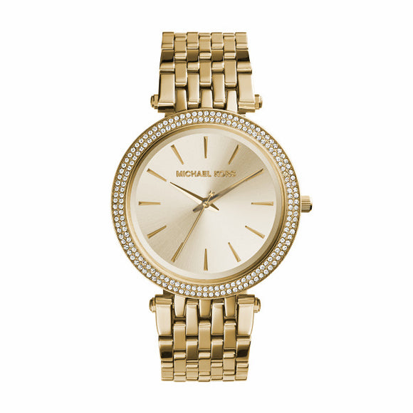 Michael Kors Ladies Darci Gold Watch MK3191