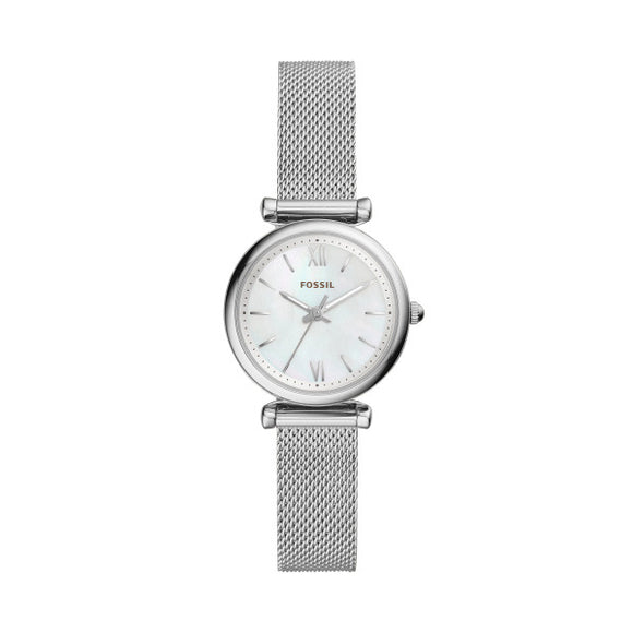 Fossil Carlie Stainless Steel Strap Ladies Watch ES4432