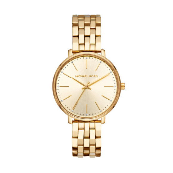 Michael Kors Pyper Gold Ladies Watch MK3898