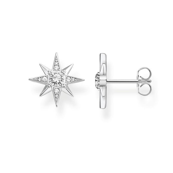 THOMAS SABO EAR STUDS STAR SILVER H2081-051-14